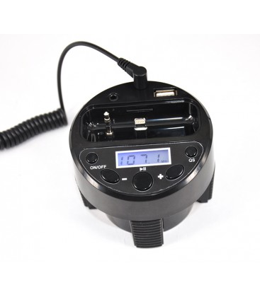 Fm Cup Full Ch. Transmitter & Charger For Apple Iphone4S/4 Ipod Touch