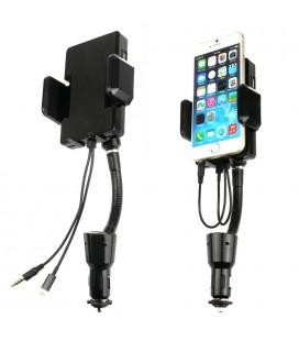 Car Holder Charger/ Fm Transmitter Iphone4/Ipod