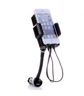 Car Holder Charger/Fm Transmitter Iphone5/Ipod