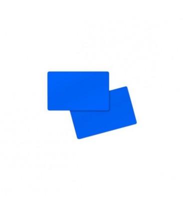 Cartes vierges PVC 0,76MM C5101 BLEU (5 BTES DE 100 CARTES)