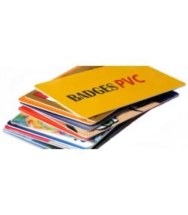 Impression carte PVC R/V